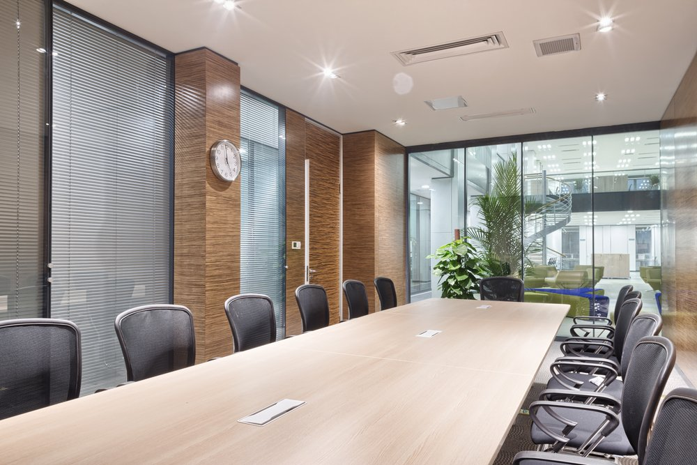 clean boardroom - Learn the Differences Between Sanitizing, Disinfecting and Cleaning