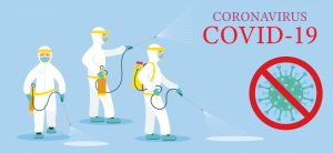 covid 300x138 - How Electrostatic Disinfection Spray Effectively Sterilizes Surfaces