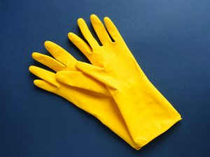 rubber gloves for cleaning 300x225 - Killing Germs, Pathogens, and Microorganisms