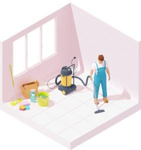 clean up 282x300 - The Added Value of Post Construction Cleaning