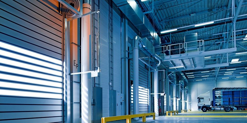 commerical warehouse panorama - Post Construction Cleaning Services GTA, Brampton, Mississauga, Vaughan